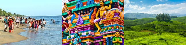 South India Destinations