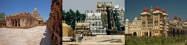 Temples & Monuments of South India