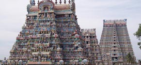 Major South Indian temples